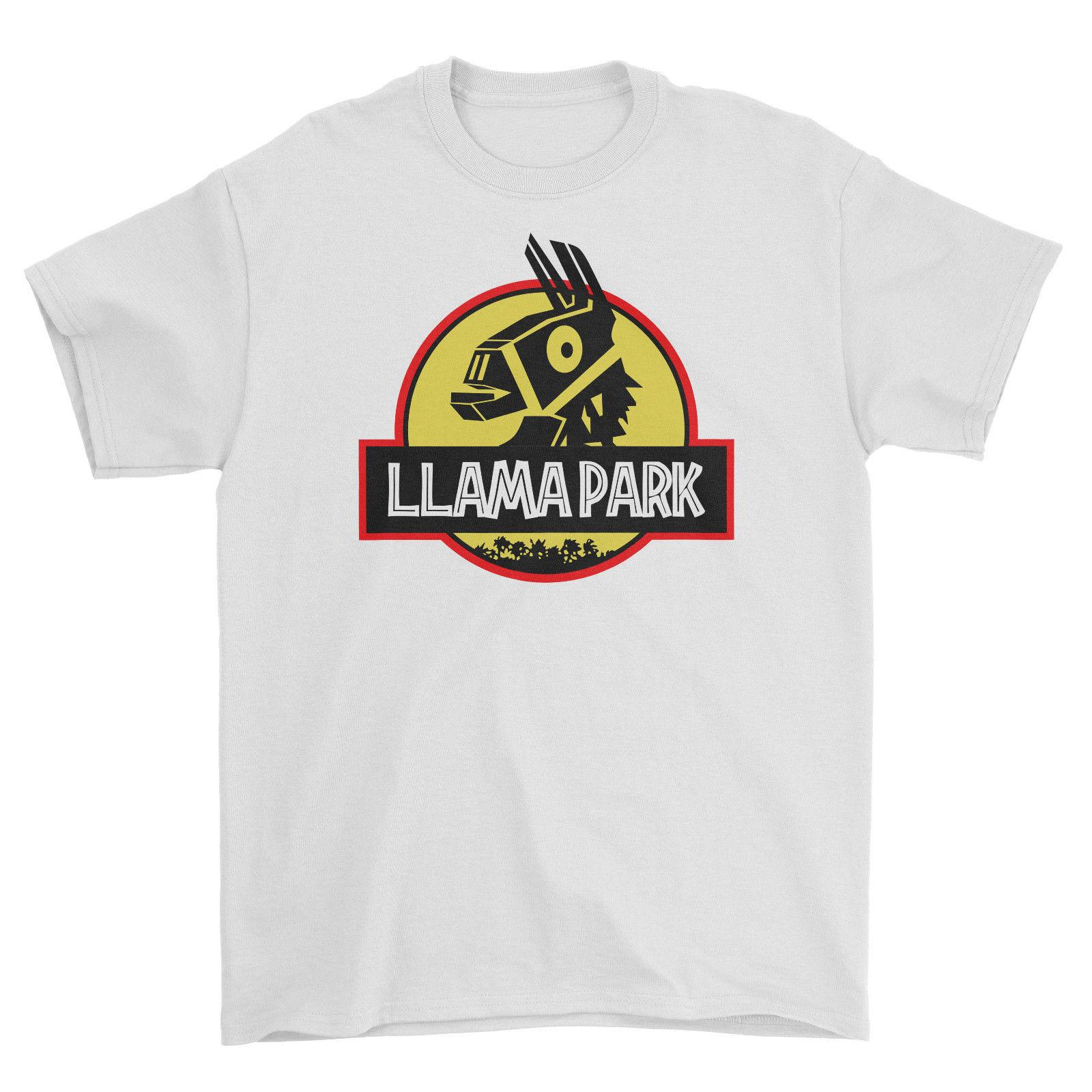 f476cd95e98 Fortnite Llama Park T Shirt Cool Retro Funny Gamer Sway Xbox Ps4 Kids  Newest Top Tees Fashion Style Men 100% Cotton Classic Tee Novelty Tee Shirts  Awesome ...