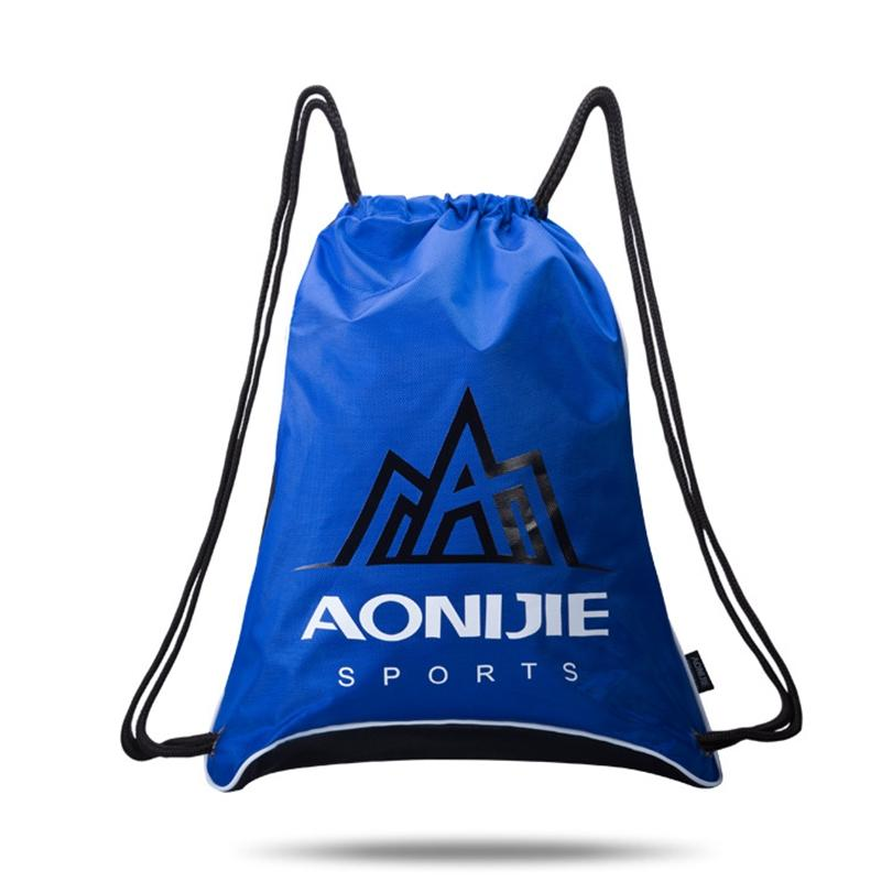 b330e3865bf6 Aonijie Waterproof Backpack Portable Shoulder Bags With Rope Strap  Ultralight With Side Mesh Bag