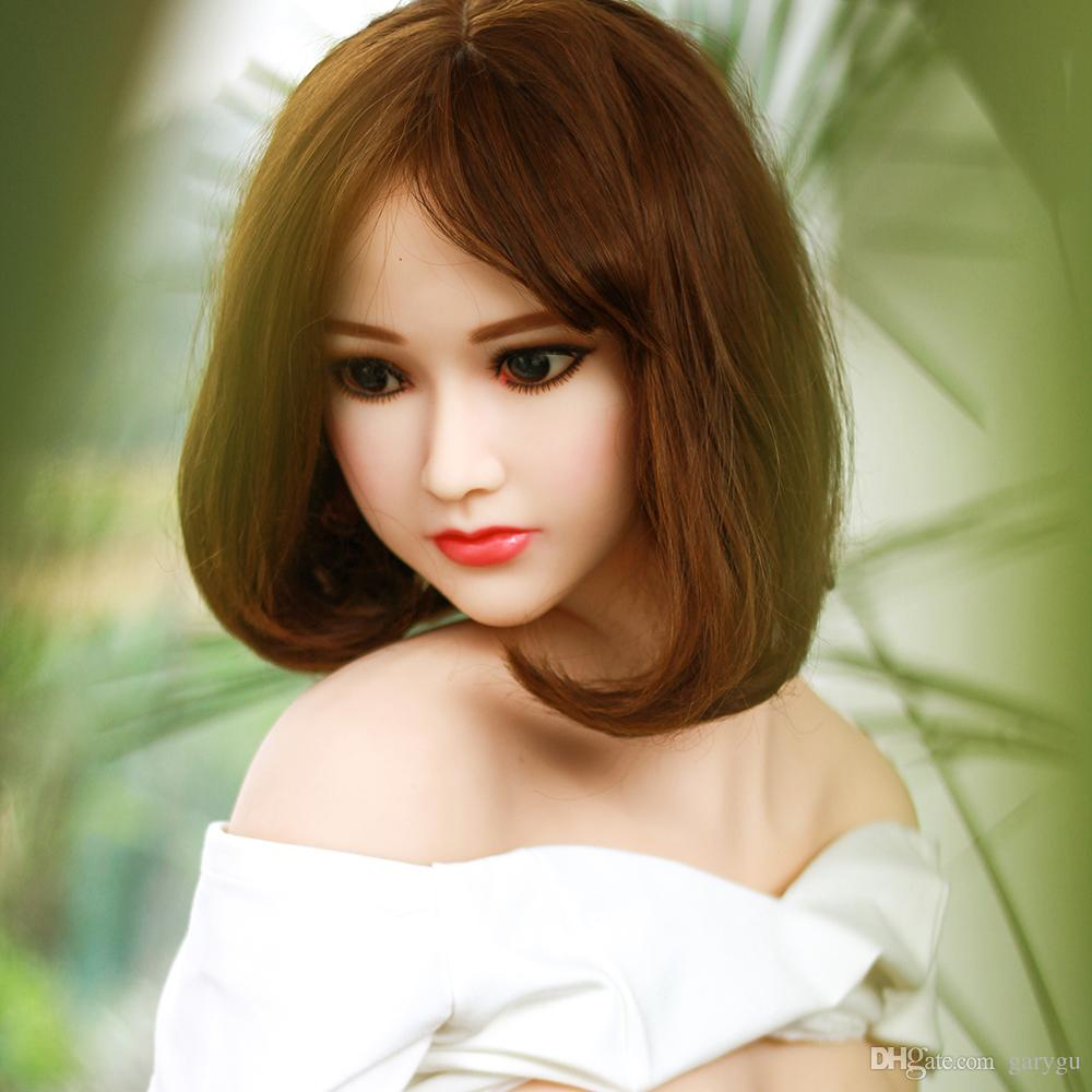 Top Sell Men Realistic Sex Doll New Silicone Sex Doll Full With Likelife Body 158cm Lifelike Adult Love Toy Oral Vaginal Anal Sex 3 Holes