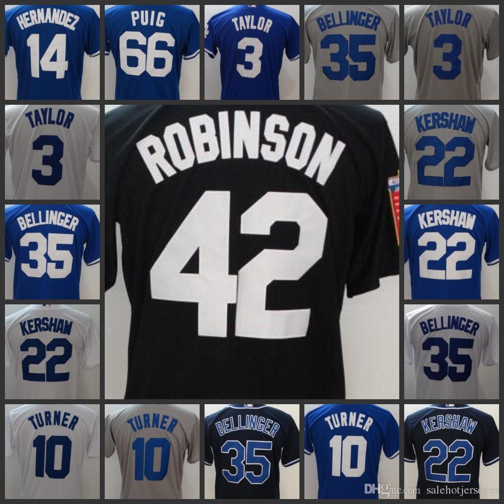 quality design 51232 69bc4 Los Angeles Mens Dodgers jersey 3 Chris Taylor 10 Justin Turner 35 Cody  Bellinger 22 Cody Bellinger Women Youth Baseball Jerseys