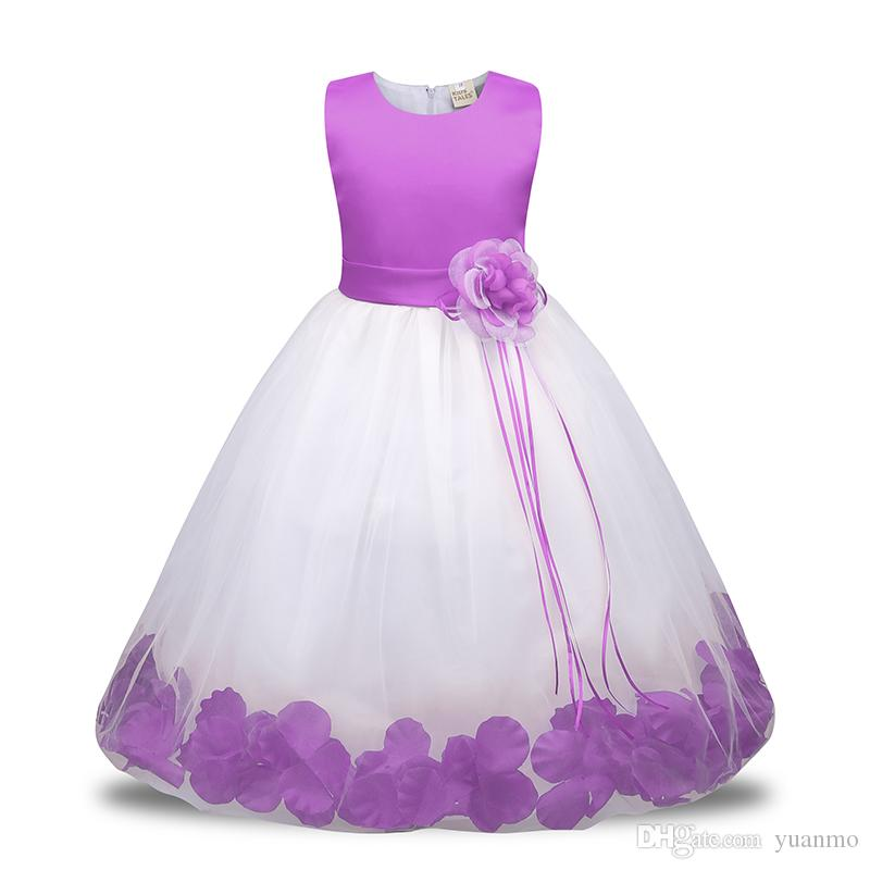 eaa6d6a4e 2019 Children S Princess Dress Latest 3 10 Year Old Kids Girl ...