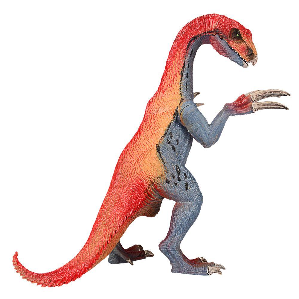 Satın Al Dış Ticaret 20 Cm Dinozor Modeli Oyuncak Boyama Kırmızı