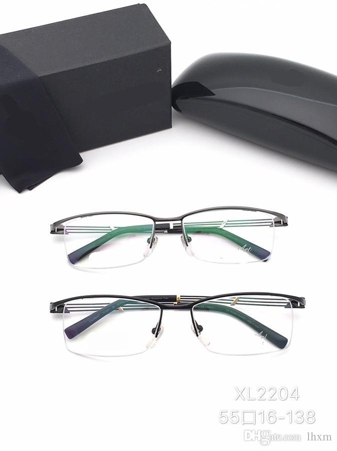 653802465664 2019 The New Half Style Spectacle Frame High End Business Men'S Eyebrows  Frame 2204 Fashion 55 16 138 From Lhxm, $64.98 | DHgate.Com