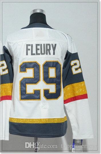 Vegas Team New #18 James Neal 29 Marc-Andre Fleury Womens Ice Hockey Shirts Sports Uniforms Pro Jerseys Cheap Custom Stitched Embroidery