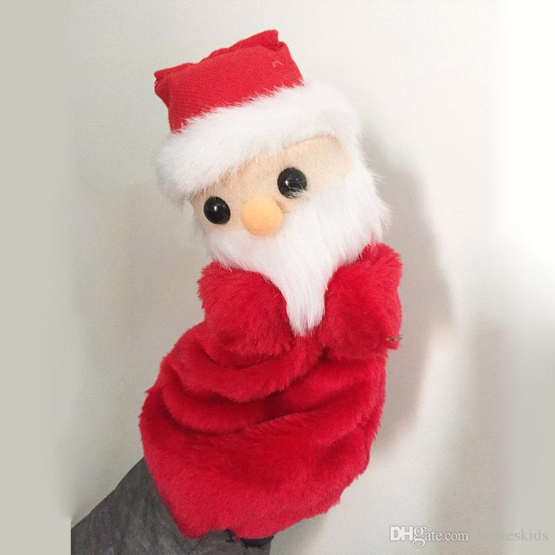 new arrival christmas santa claus plush toy father christmas stuffed doll toys festival home room decorations gift 27cm toys for kids for christmas toys - New Toys For Christmas