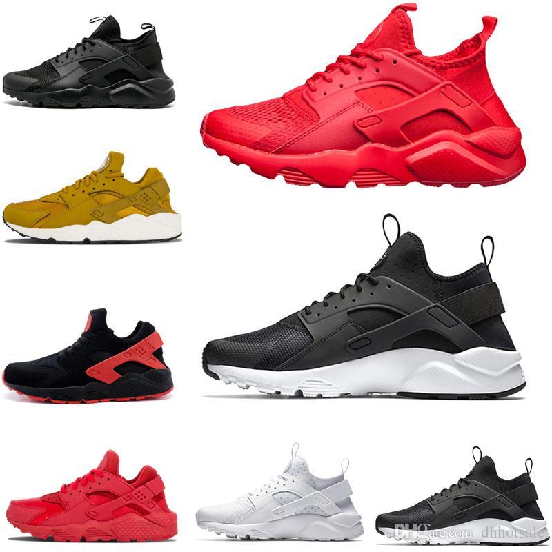official photos 07564 daacc Compre Nike Air Huarache Shoes Venta Caliente Huarache 1.0 4.0 Zapatos  Corrientes Para Hombres Mujeres, Blanco Negro Zapatillas Triple Runs  Huaraches ...