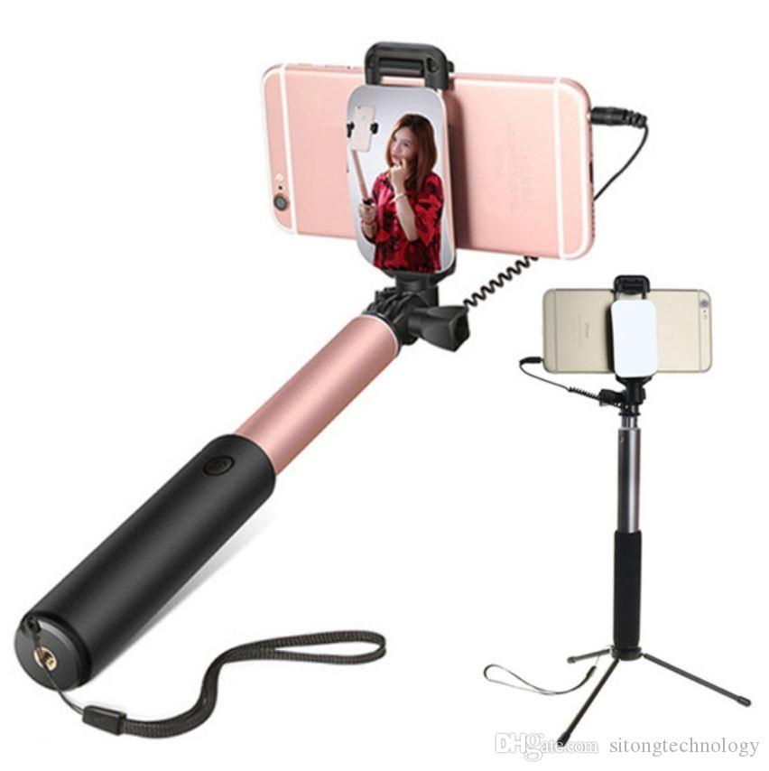 gro handel smartphones selfie stick universal telefon. Black Bedroom Furniture Sets. Home Design Ideas