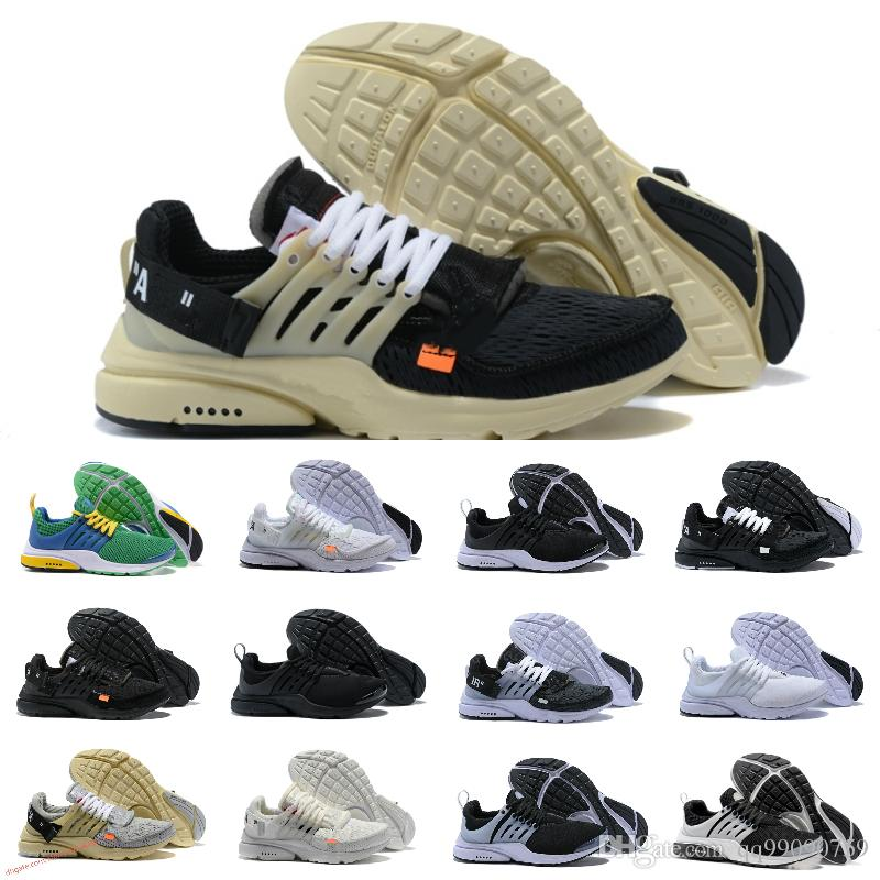 new style 71311 f4817 2018 New Original Presto V2 Ultra BR TP QS Black White X Running Shoes  Cheap Sports Women Men AI Prestos Off Basketball Sneakers Jogging Shoes  Sale Shoes .