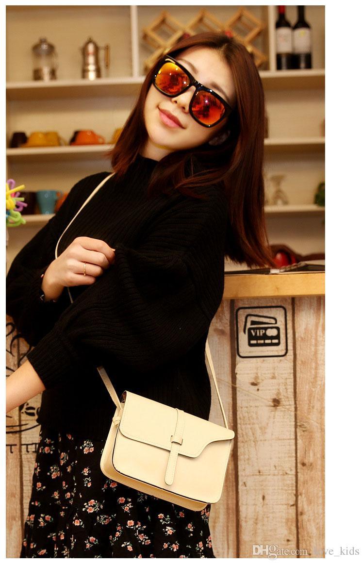 Mode PU Leder Vintage Handtasche Tasche Handtasche Schultertasche Crossbody Messenger Handtasche trendy Geschenk versandkostenfrei