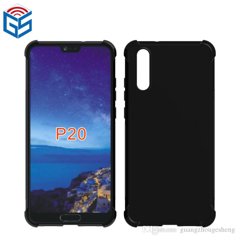 Case For Huawei P20 Maimang 9 Anti Knock Soft Gel TPU Phone Protective Cover 2018 New Hot Selling
