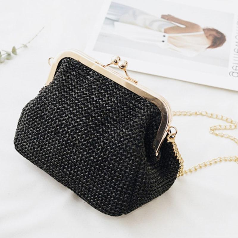 2019 Fashion 11.11 Small Crossbody Boho Bags For Women Evening Clutch Bags  Ladies Handbag Female Straw Shoulder Beach Rattan Women Bag W407 Leather  Handbags ... 3cc26e10d76b1