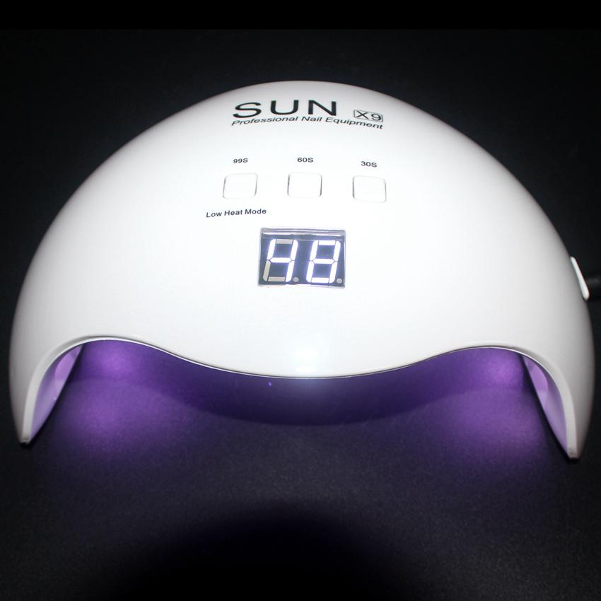 Lampen Sun Alle Led Polnisch Kurierenden Uv Gel Nagel Maniküre Lampe Eis Trockner 48w Für X9 Kunst W29HIeDYEb