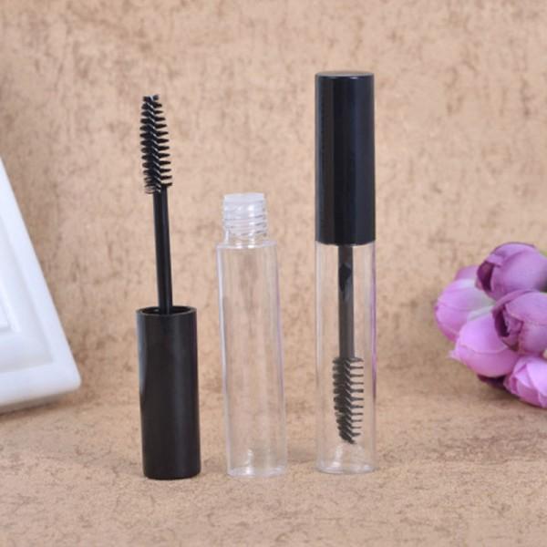 PRINT LOGO 10ml leeren Mascara Rohr, 3 Packungen 10ml Wiederverwendbare Mascarabehälter Eyeliner Flasche Lippen Gross Rohr mit Pinsel
