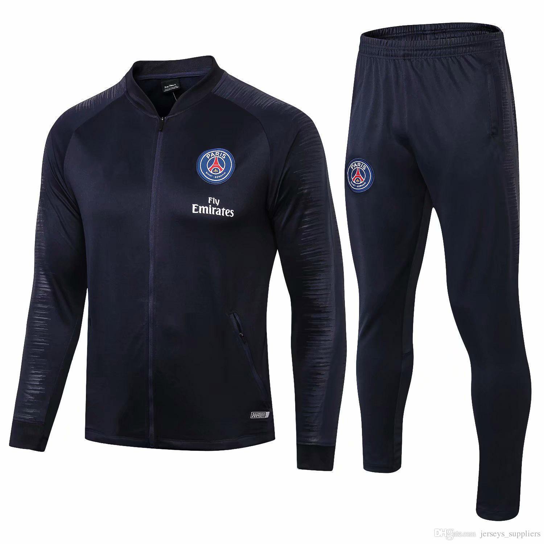 b50d7f72642 2019 Jordam X PSG Jacket Suit Champions League Survetement 18 19 PSG ...  champions