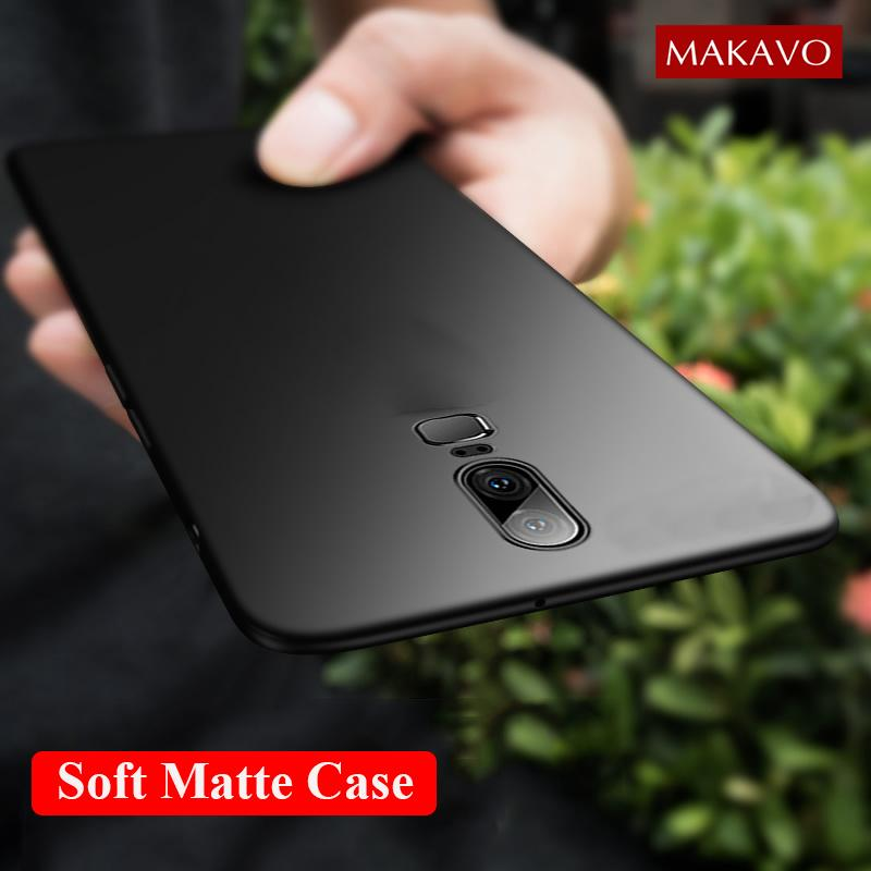 sale retailer 0e1f9 74531 For OnePlus 6 Case 360 Protection Soft Matte Silicone Back Cover For  OnePlus 5T 5 One Plus 6 5 5T Phone Cases Capa