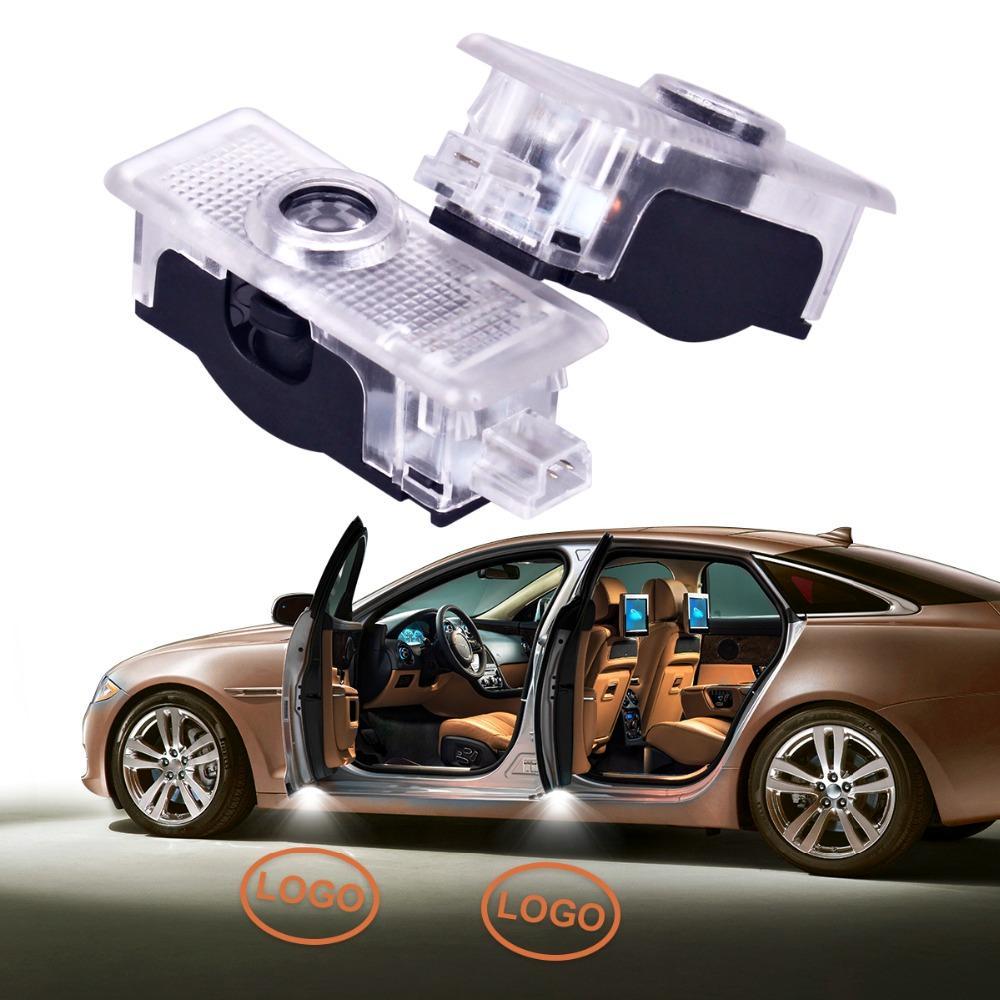 LED Auto Porte Bienvenue Logo Lampe de Projecteur Laser Pour Lexus RX 200 300 330 570 IS 430 GX ES LS LX 12V Ombre Fantôme Lumière