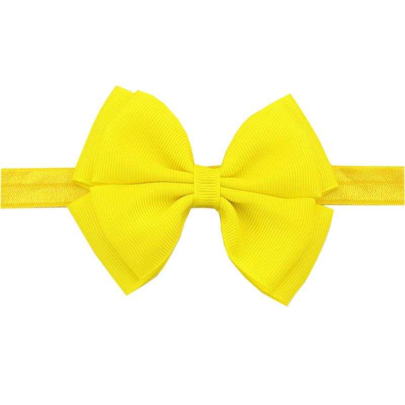 16 Cindy Colors Baby Bow Headbands Plain Solid Hair Bands For Little Girls  Yellow Children Headwear Toddler Hair Decorations Hair Accessories Online  Baby ... c9bc3575c83