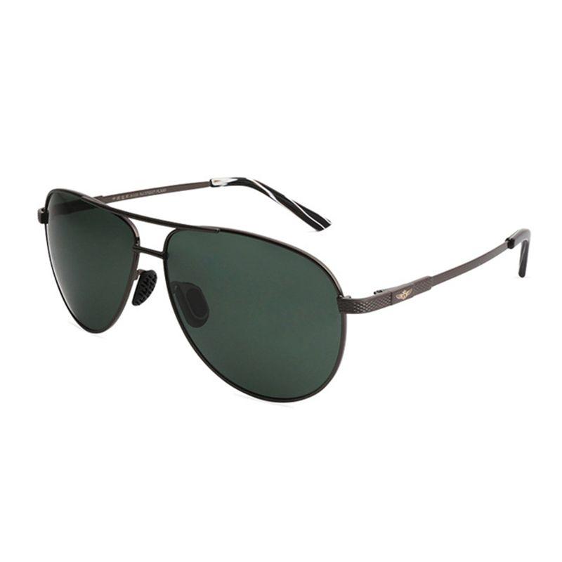4da43c2ea Compre Memória Óculos De Sol Dos Homens De Vidro Polarizado Lente Verde  Piloto Óculos De Sol Das Mulheres Dos Homens De Condução Legal Óculos Afas  Oculos ...