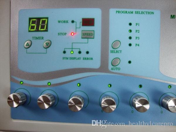 TM-502 바디 슬리밍 기계 전기 근육 자극기 마이크로 현재 Electrostimulation 기계 무게 손실 해독 장치