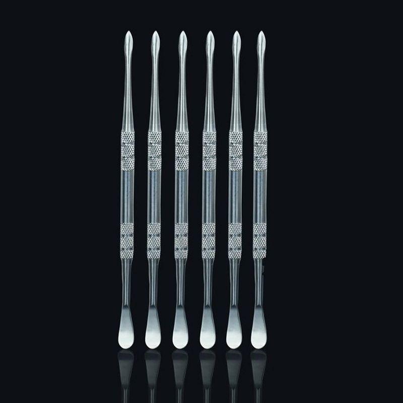 Paslanmaz Çelik Konsantre Dab Rig Araçları için Balmumu / Dabs / Paramparça Uçlu dabbing aracı metal konsantre çivi