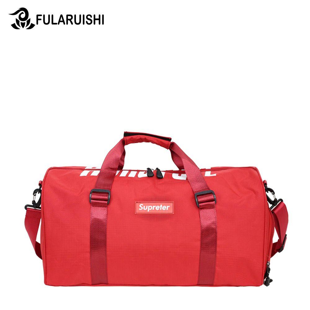 47ba37170071 Fularuishi 2018 New Waterproof Big Oxford Travel Bags Casual Men ...
