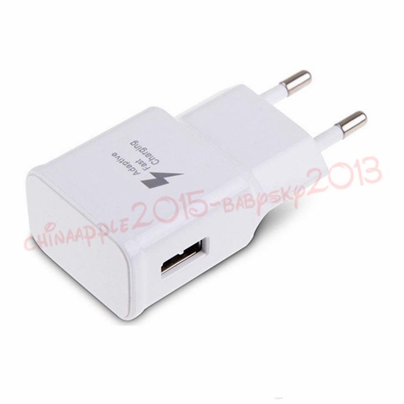 USB الجدار شاحن 2A شحن سريع سرعة الولايات المتحدة الاتحاد الأوروبي AC الرئيسية الحائط شواحن محول لسامسونج S6 S8 S10 ملاحظة 10 هتك الروبوت الهاتف