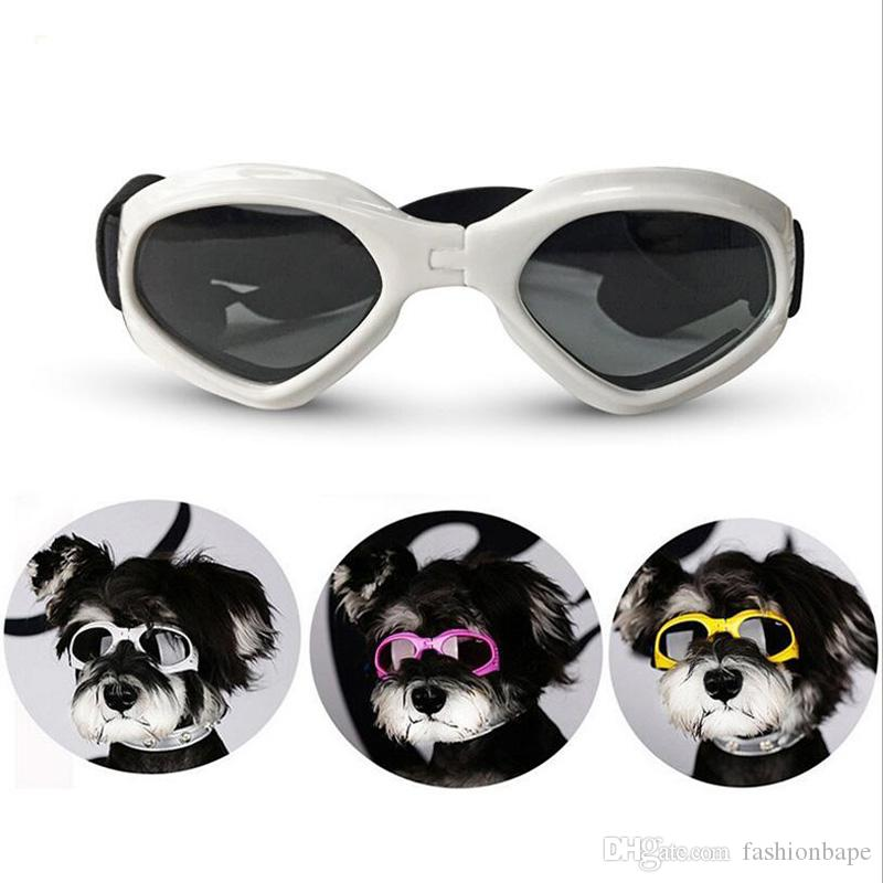 b5fc2de3c54 2019 Creative Dog Cat Sunglasses For Teddy Puppy Ski Goggles Dog S  Accessories Cute Pet S Goggles For Protecting Eye Cool Pet Supplies From  Fashionbape