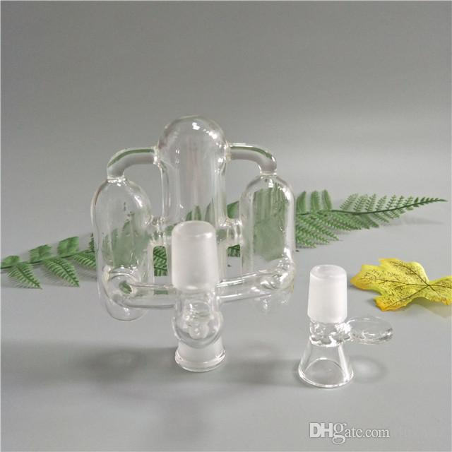 18.8 MM Joint ash catcher for both glass bong and oil bong glass smoking pipe A-011
