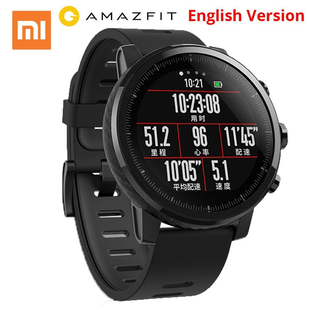 Inglés XIAOMI Huami amazfit Reloj inteligente rastreador ...