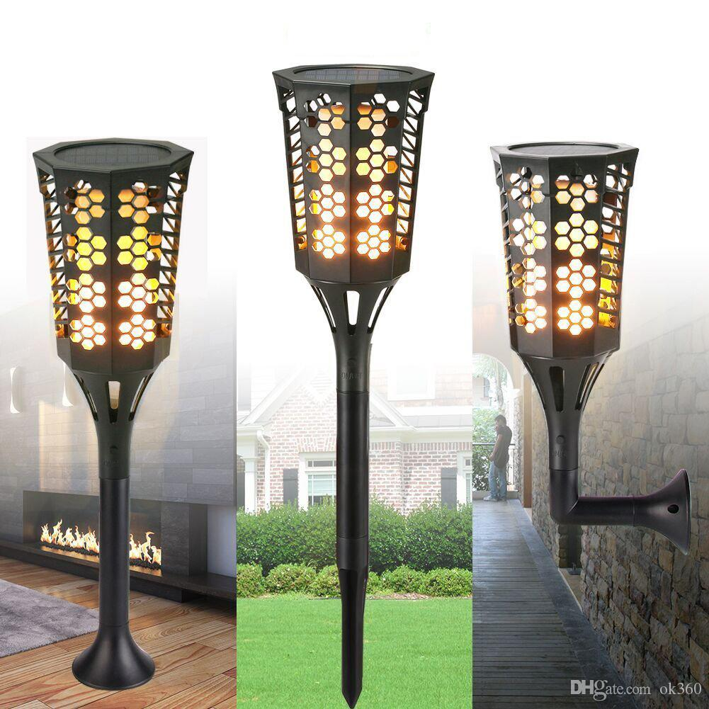 2018 96led solar torches light outdoor waterproof flickering flame 2018 96led solar torches light outdoor waterproof flickering flame lighting wall lamp landscape lights for garden yard decoration from ok360 aloadofball Choice Image