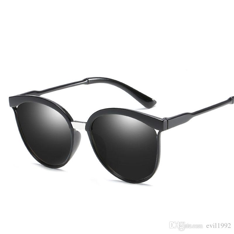 polarized Big Square Frame Sunglasses Uv400 Men Male Silver Tan Lens Mirror Retro Brand Designer Sun Glasses Oculos el Malus Men's Sunglasses