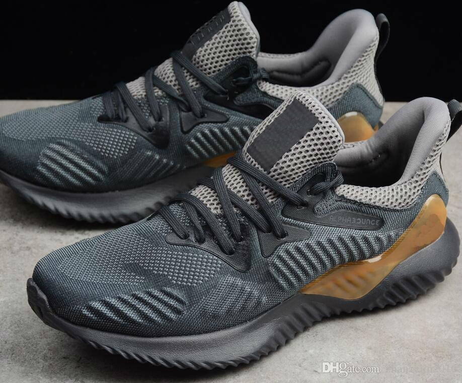 pretty nice 66691 e3cce 2018 Kolor Alphabounce Beyond Boost 330 Running Shoes Alpha Bounce Hpc Ams  3M Sports Trainer Sneakers Man Shoes With Box Size 7 11 Top Running Shoes  ...