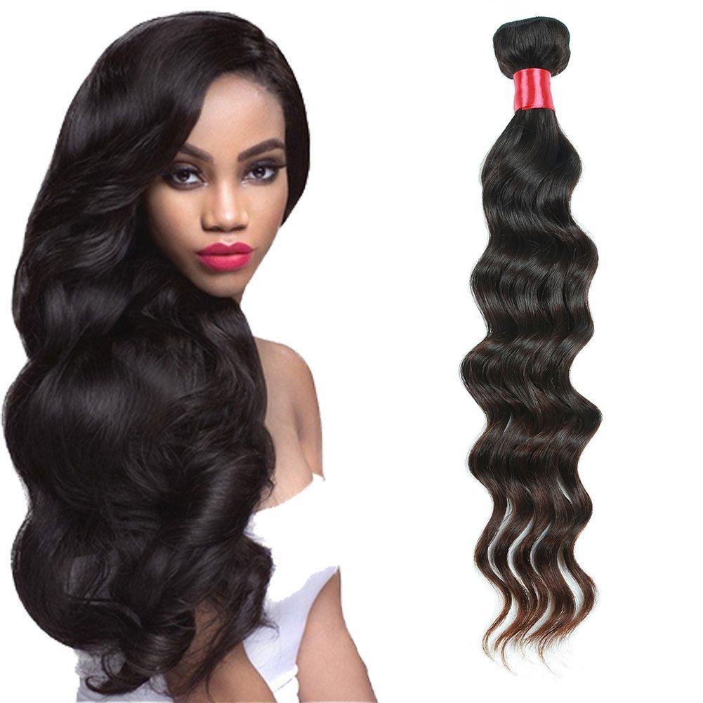 Newest Brazilian Virgin Hair Weave Loose Wave Unprocessed Malaysian