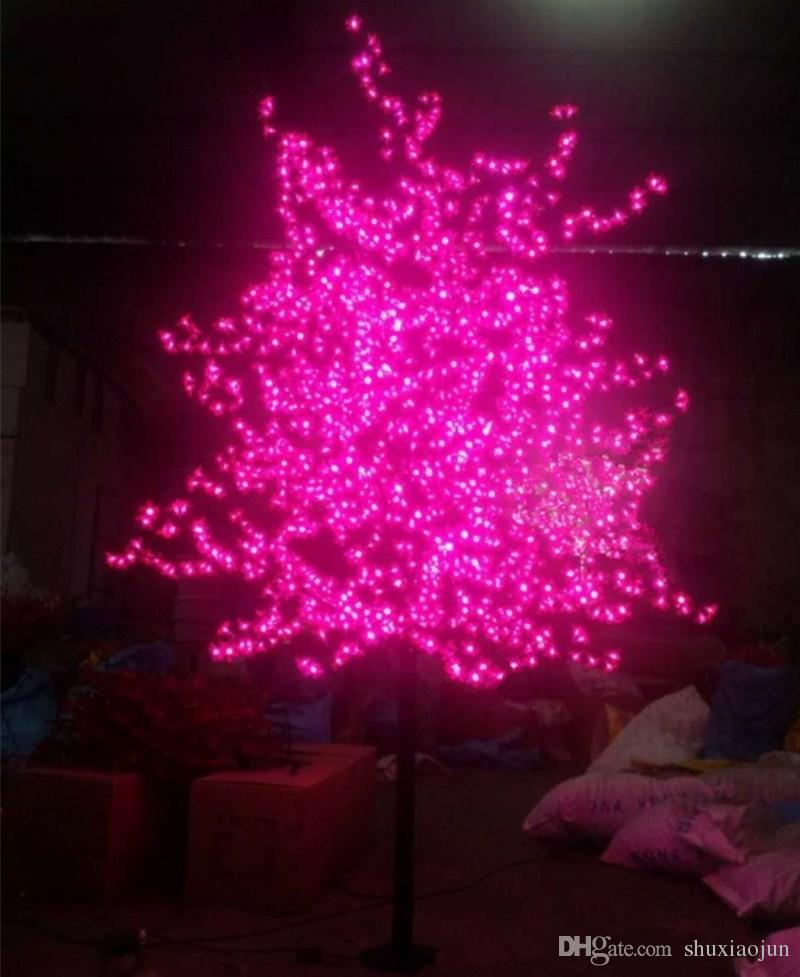 2018 led christmas light cherry blossom tree led bulbs 1 5m 5ft height indoor or outdoor use drop shipping rainproof from shuxiaojun 110 55 dhgate com