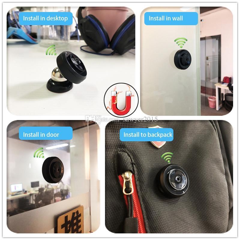 C6 Mini Camera Wireless Wifi IP Camera HD 720p Night Vision MINI DV Portable Motion Detection DVR Home Security Video Camcorder