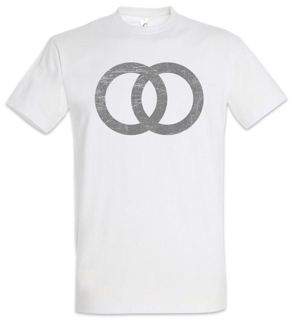 Wedding Symbol T Shirt Marriage Just Married Ring Rings Sign