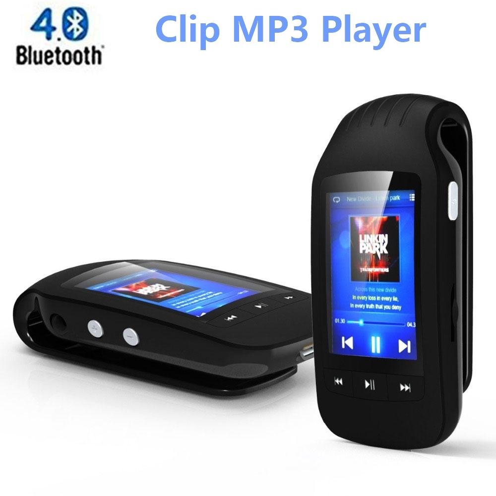 original mini mp3 player clip bluetooth 8gb portable sport. Black Bedroom Furniture Sets. Home Design Ideas
