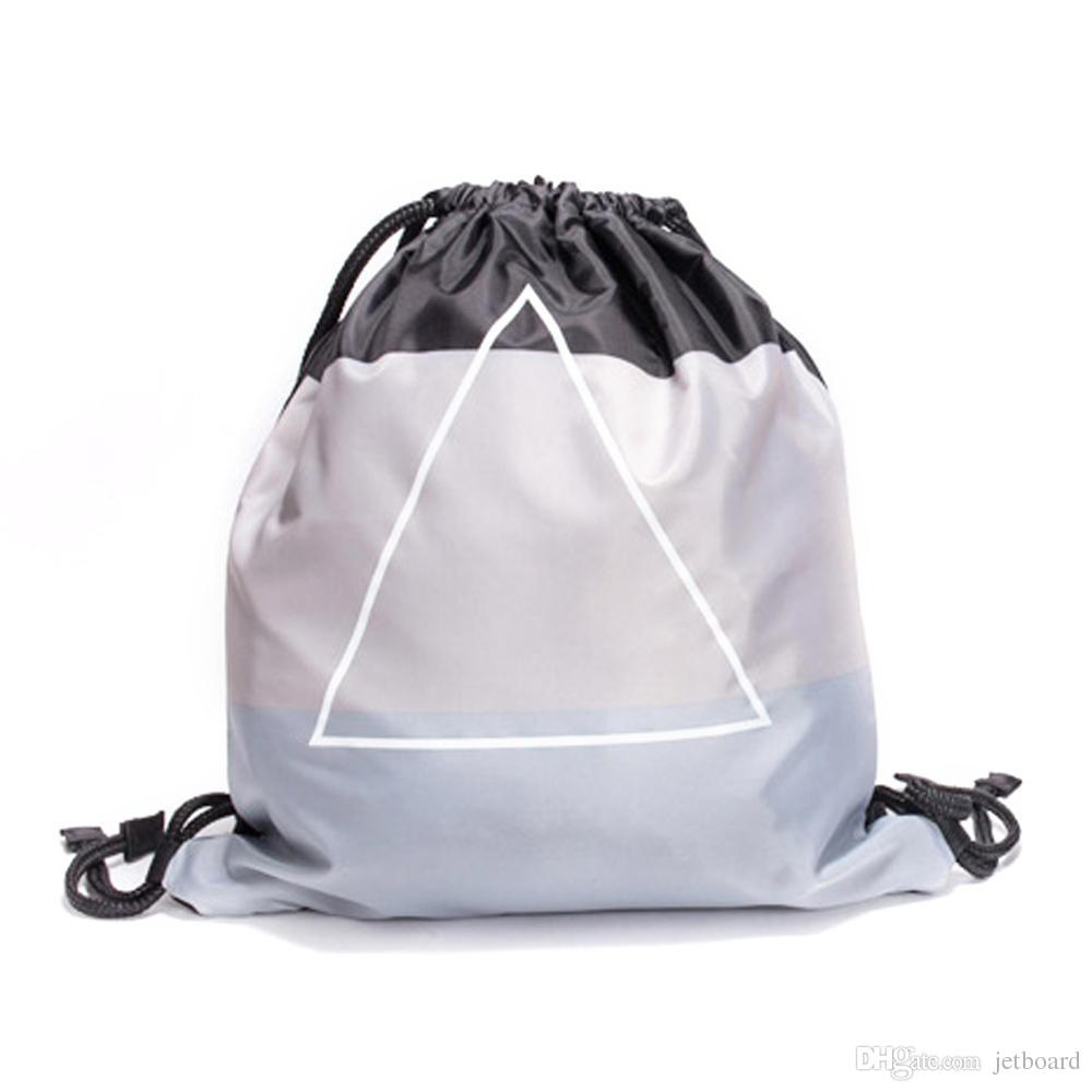 Xiaomi 90fun 5l Waterproof Drawstring Bag Fashion Lightweight Panda Portable Travel Leisure Backpack High Capacity Pure Color Gym Sack Bags