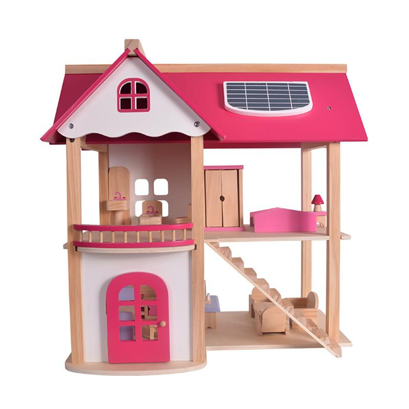 Wholesale Miniature Doll House 3d Diy Wooden Dollhouse Handmade Small Doll  Houses Furniture Kits Model Toys For Children Birthday Gifts Doll And  Dollhouse ...