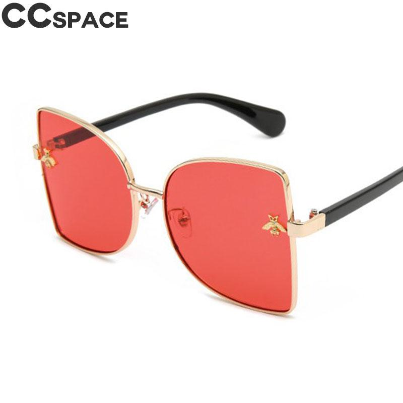29fc23ad8239 Big Frame Luxury Sunglasses Women Golden Bee Cat Eye Sexy Shades UV400  Vintage 2018 Brand Glasses Fashion Oculos 47731 Boots Sunglasses Tifosi  Sunglasses ...