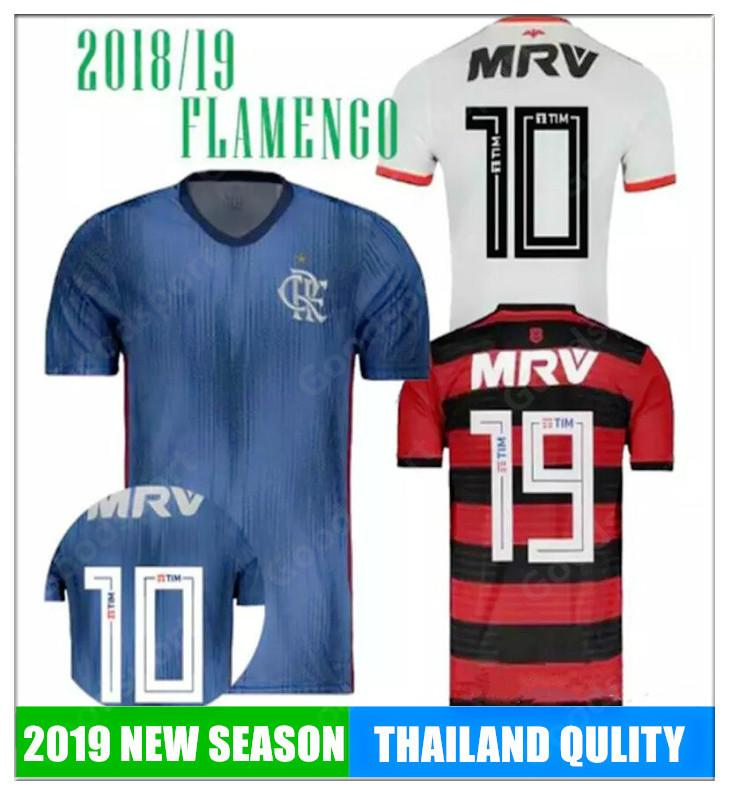 2019 NUEVA Camiseta De Flamengo 2018 2019 Flamenco GUERRERO DIEGO VINICIUS  JR Camisetas De Fútbol Camisetas Deportivas De Fútbol BRASIL Calcio Futebal  TOP ... abb1fcca1d1de