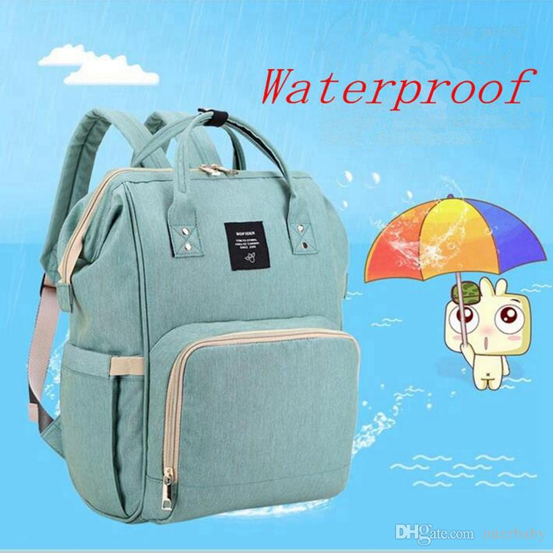 adc9d355b9cc0 2019 LAND Fashion Mummy Maternity Nappy Bag Baby Diaper Bags Brand Large  Capacity Baby Bag Travel Backpack Designer Nursing Bag YL68 1 From  Interbaby