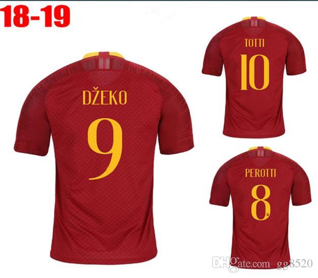 023112223 2019 2018 2019 Optimum Quality Rome Adlut Soccer Jerseys Camisetas Shirt  Survetement Man Romas Football Shirt. From Gg8520