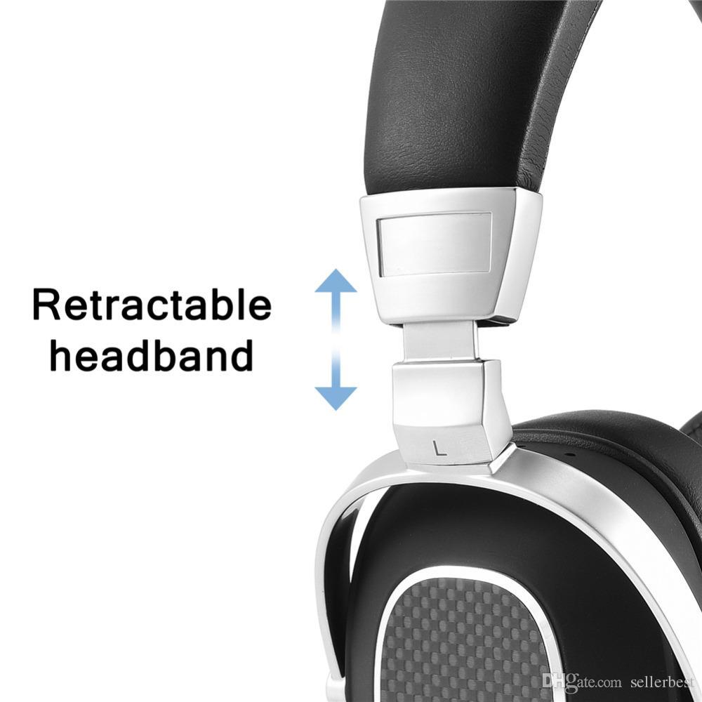 Auriculares con cable Auriculares de alta fidelidad en la oreja Auriculares estéreo de bajos profundos en la cabeza