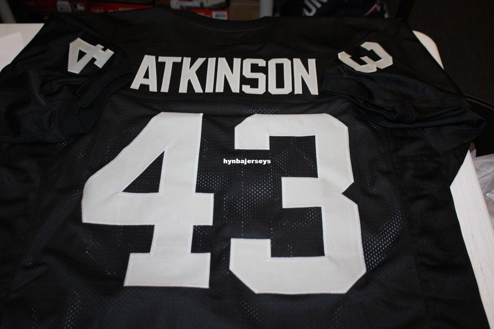 Throwbacks Cheap Retro  43 Customize Jersey Black Sewn Men s ... 70628e1ca591