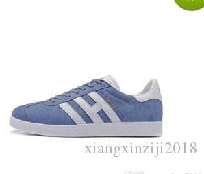 huge discount e1e0d 28aad Acquista Vendita Calda! Sneakers In Nappa Di Gazelle In Pelle Scarpe Da  Passeggio Casual Da Donna Da Uomo Scarpe Basse Da Donna Uomo Zapatillas  Taglia 36 45 ...