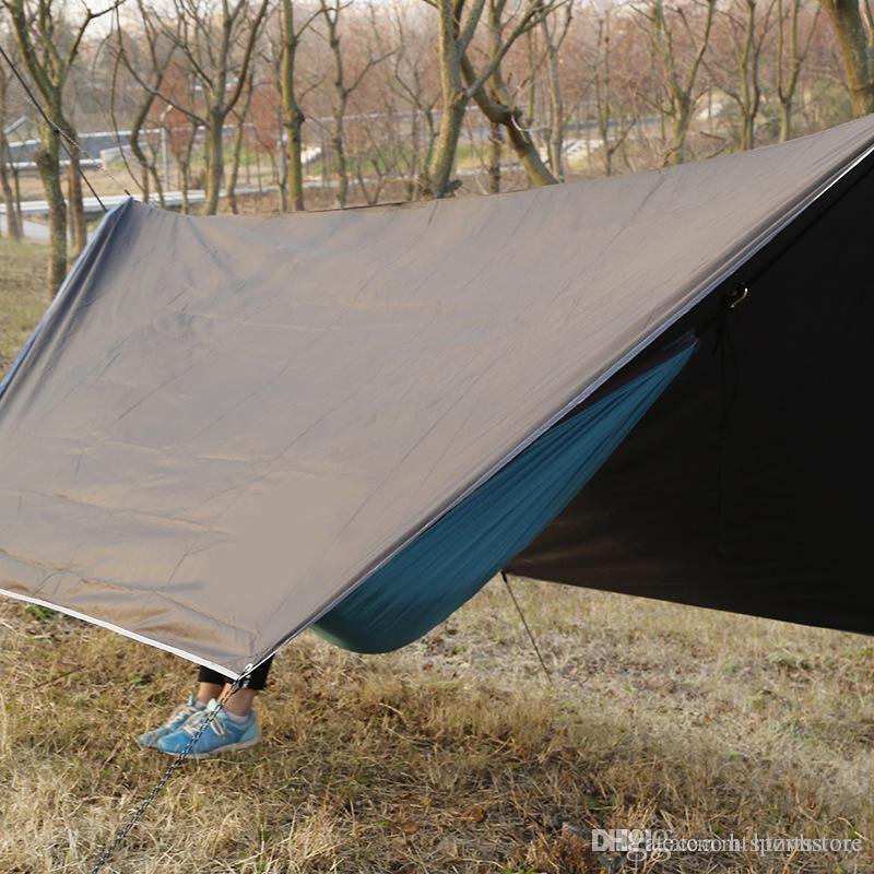 Outdoor Portable Multi Purpose Canopy Hammock Waterproof Sunscreen Awning  Shade Tent Hammock Canopy Pet Shelter Cat Shelter From Htsportsstore, ...