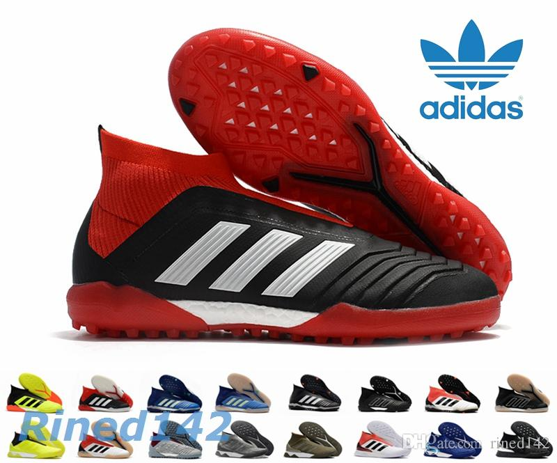 brand new ca6d0 2737b ... usa 2018 adidas predator tango 18 football boots mens tr indoor soccer  cleats paul pogba football