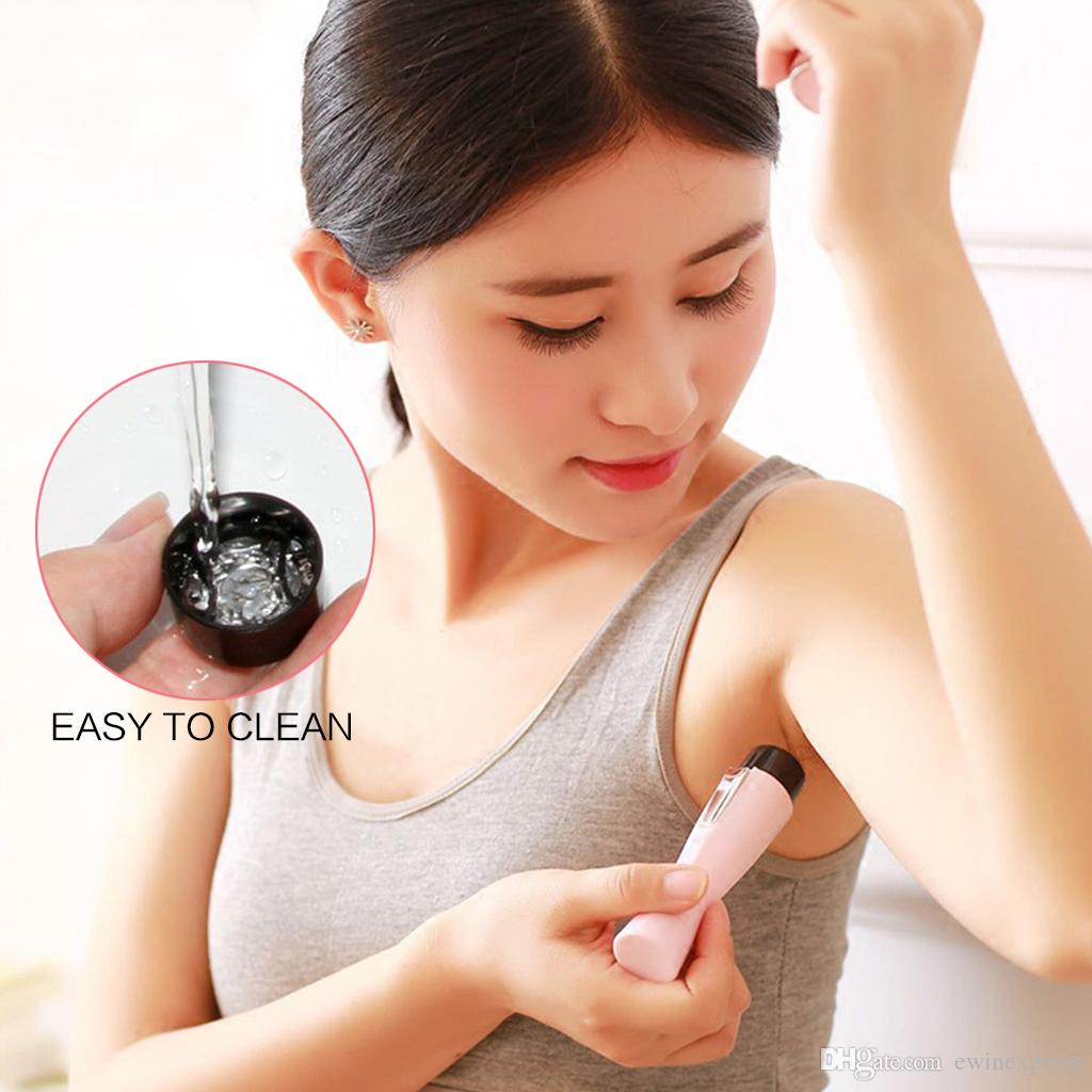 Mini Electric Painless Hair Removal Shaver Trimmer For Women Legs Armpit Arm Body