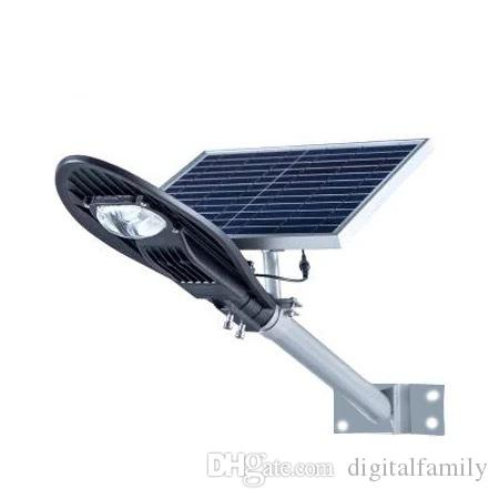 NEW 20W 30W 50W waterproof ip65 integrated all in one led solar street light price Bridgelux LED Light Source outdoor led solar street light